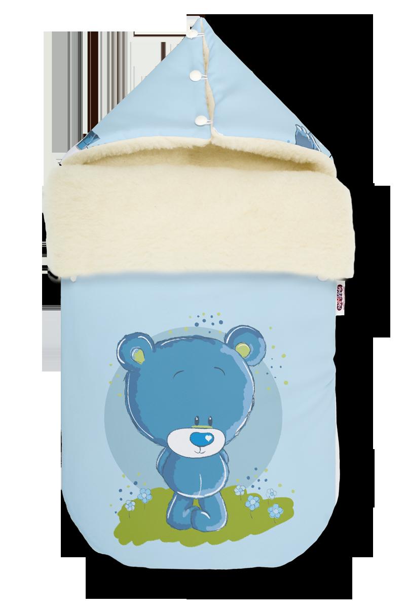 Купить Зимний конверт мишки - для мальчиков на овчине, МиМиМи г. Рязань, Россия